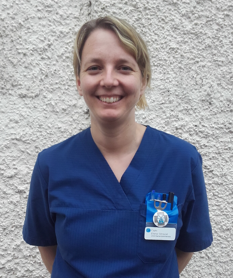 Ellenor Sörqvist Specialistsjuksköterska Vård av äldre samt Distriktsköterska.Styrelseledamot i Riksföreningen för sjuksköterskor inom äldre och demensvård
