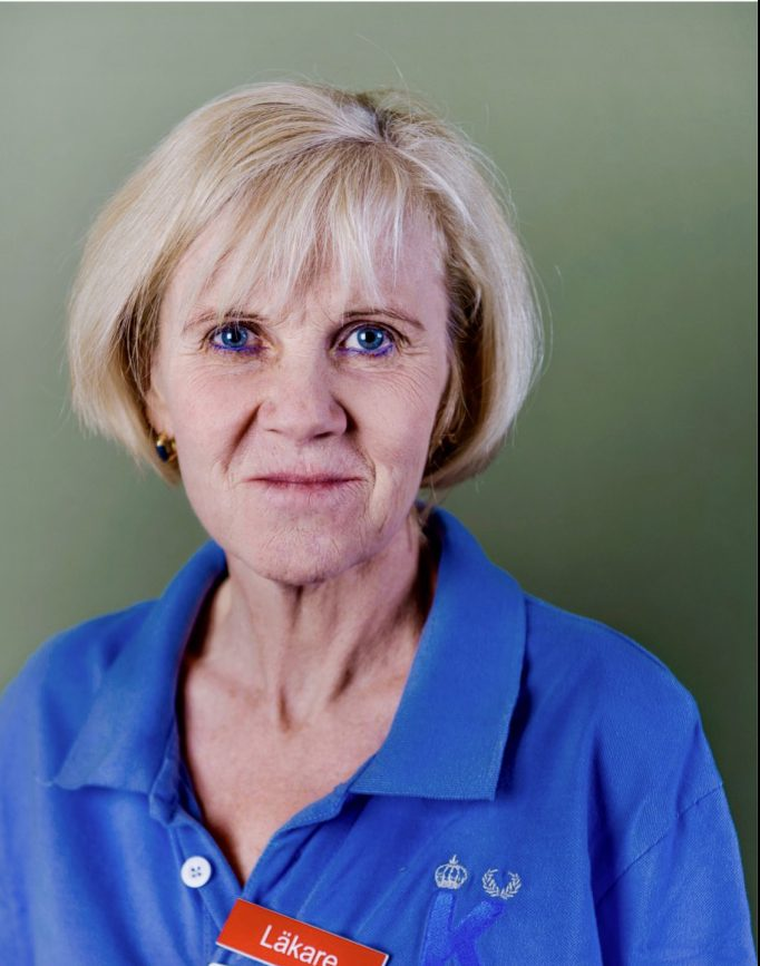 Maria Bradley, ansvarig för läkarutbildningen av hudsjukdomar vid Karolinska institutet och leder en forskningsgrupp med fokus på atopiskt eksem.