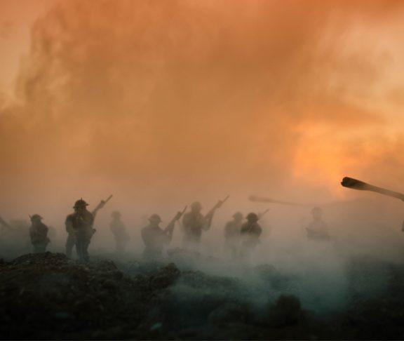 Stell dir vor, es ist Krieg - und alle spielen friedlich miteinander