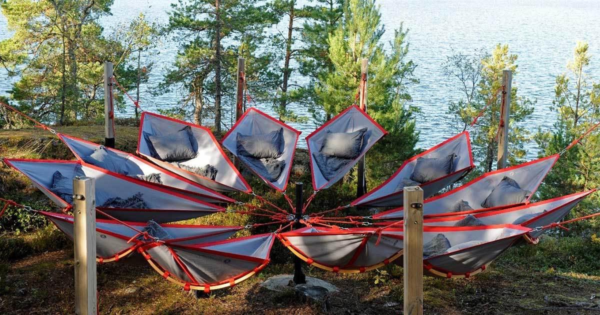 bommersvik - hängmattor