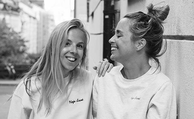 Emely Croona och Carro Levy. Foto: Sofie Stenmark