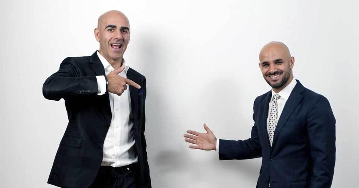 Saeid Esmaeilsadeh och Ashkan Pouya. Foto: Tommy Fondelius