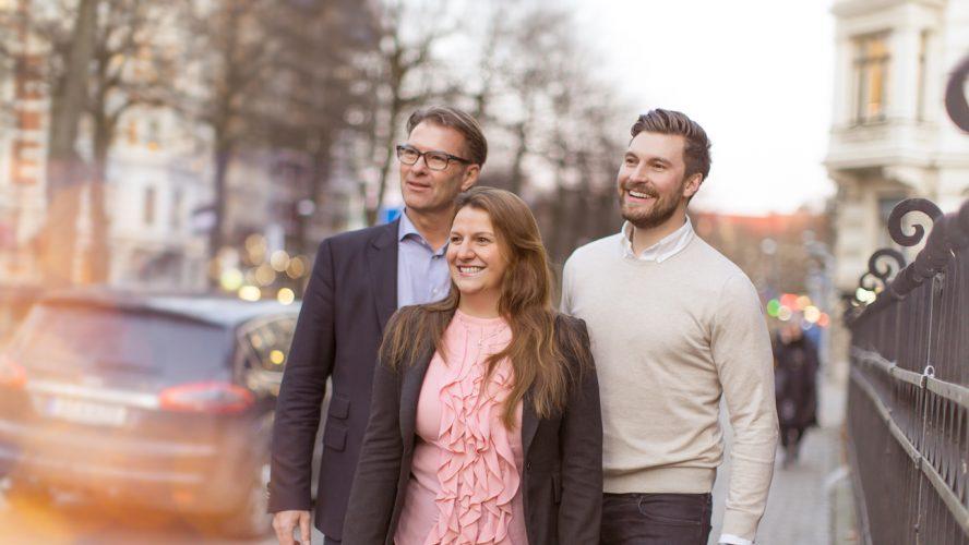 Sten R. Sörensen, Vd Cereno Scientific AB, Klementina Österberg, Vd GU Ventures AB samt Erik Gatenholm, medgrundare & Vd Cellink AB