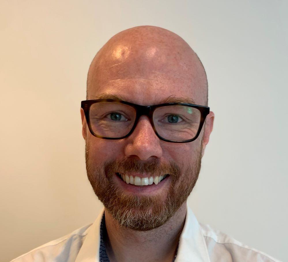 Bild på Karl-Johan Rodert, vice ordförande på SWERMA och risk manager på Skanska