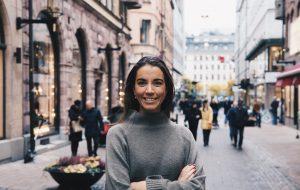 Johanna Kull, hållbarhetsexpert på Avanza. Foto: Avanza