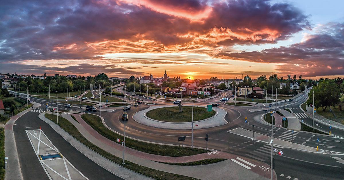 Piotrkow-Trybunalski-rondo