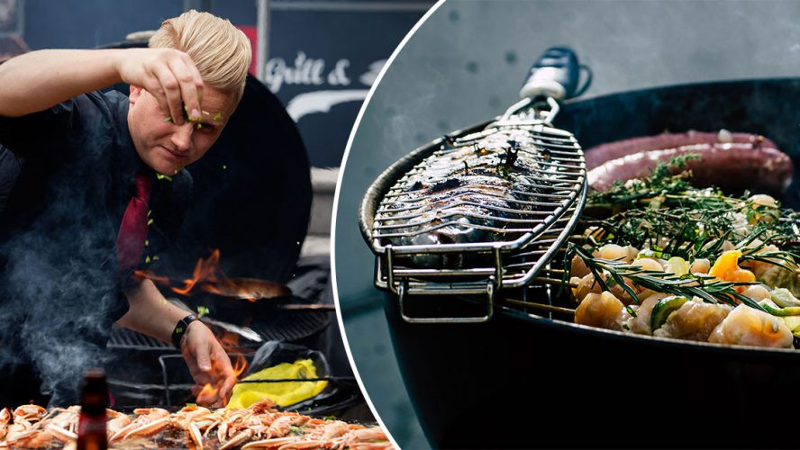 Grillmissbrukare som blev Grillmästare, Andreas Mathiasson. Foto: Jan Dahlqvist/Unsplash