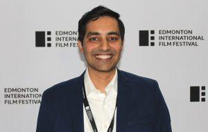 Rahul Chaturvedi at the EIFF