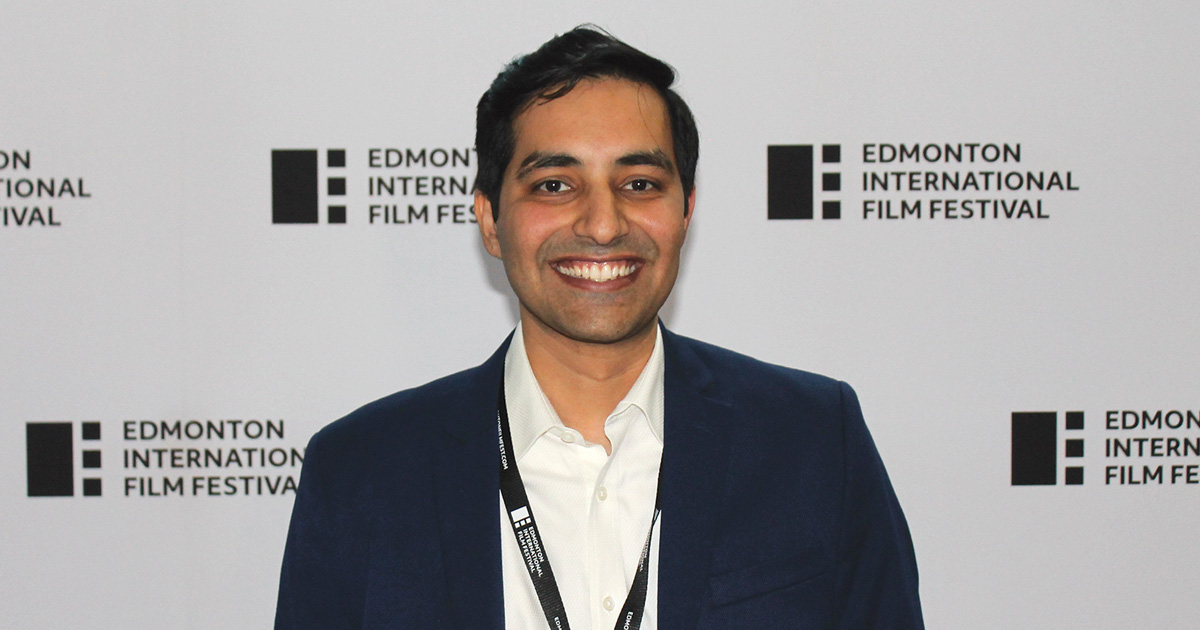 Rahul Chaturvedi at the EIFF
