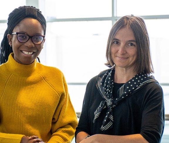 Sylvia Okonofua and Dr. Sandra Zilles