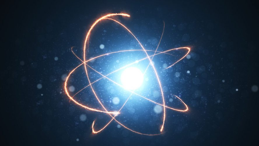 Rendering of an energy atom