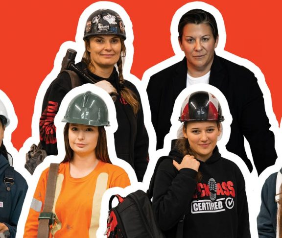 Women in Trades header