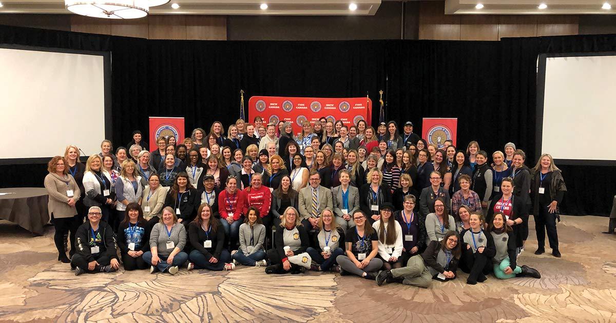 IBEW Canadian Women's Conference 2019