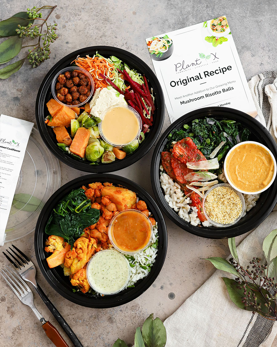 PlantX food, mustroom risotto balls