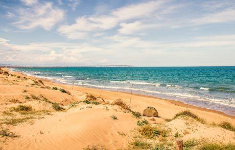 Strand på Guardamar
