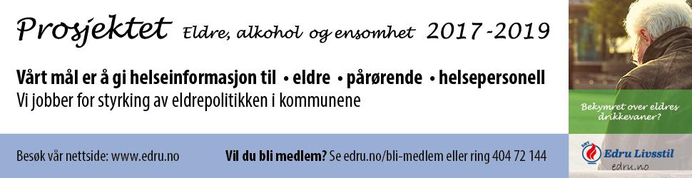 DNT Edru Livsstil annonse
