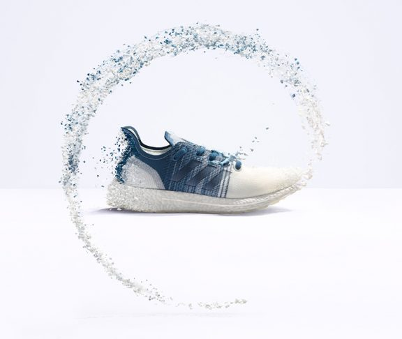 Sustainable Fashion header adidas shoe