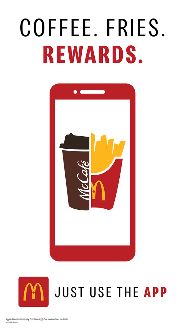 McDonald's Coffee, Fries, Rewards image