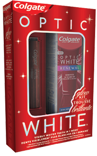 Colgate Optic White Glow Kit