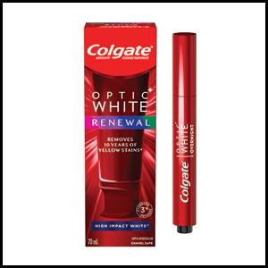 Colgate Optic white renewal kit