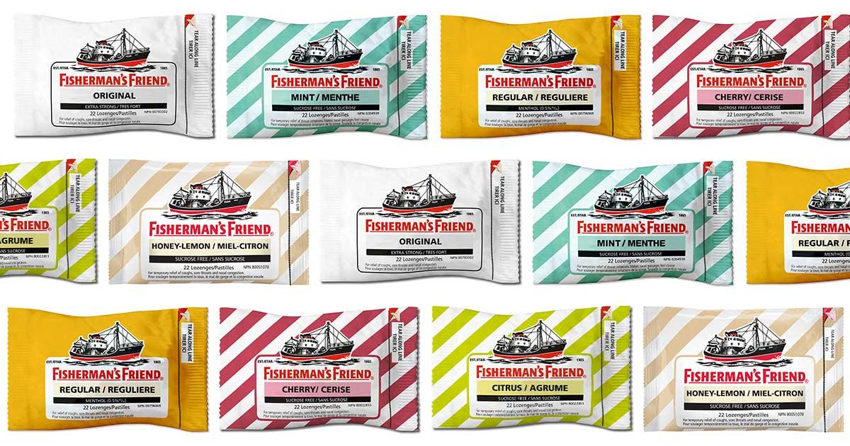 Flavours of Fisherman's Friend