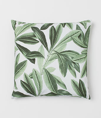 H&M Home Patterned Cotton Cushion Cover