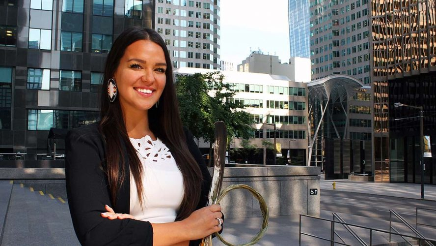 Krystal Abotossaway indigenous leadership