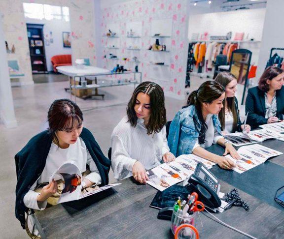 seneca sustainable fashion students