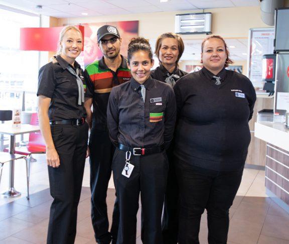 Ansatte på Burger Kink i Kristiansund