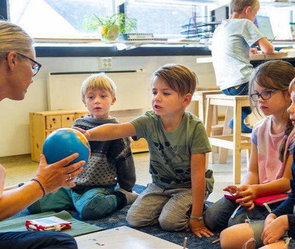 montessori-undervisning