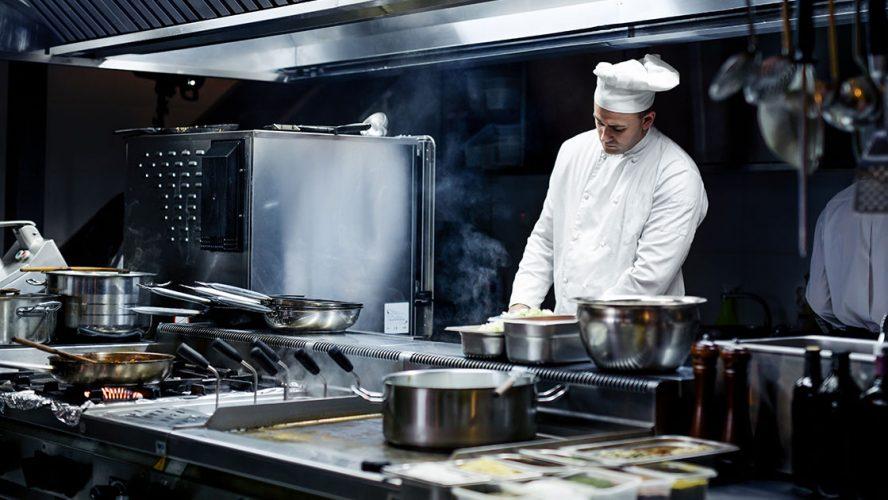 storkjøkken, restaurant