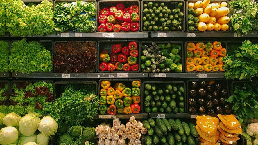 grønnsaker i et stand