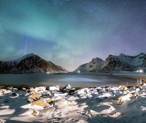 Nordlys i Lofoten