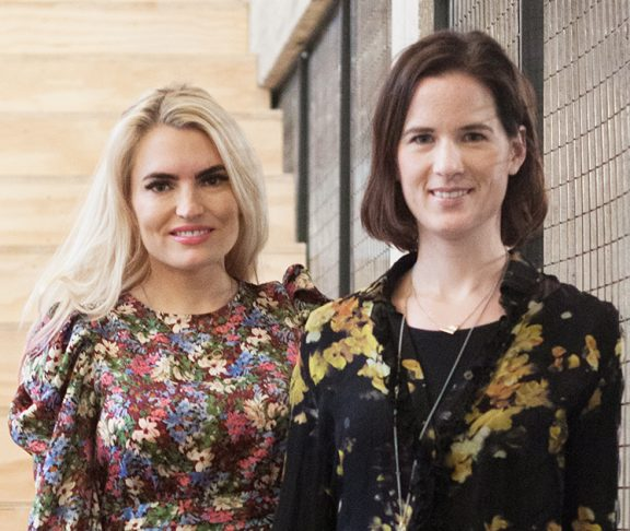 Isabelle Ringnes og Marie Louise Sunde