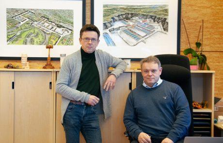 Gunnar Bjørnson og Thomes Trømborg