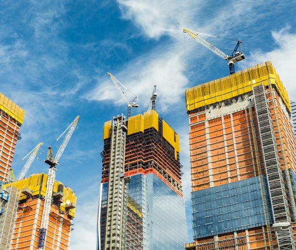 Skyskrapere som bygges
