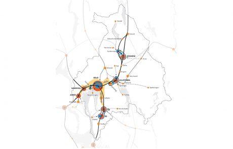 Kart over Oslo og Akershus