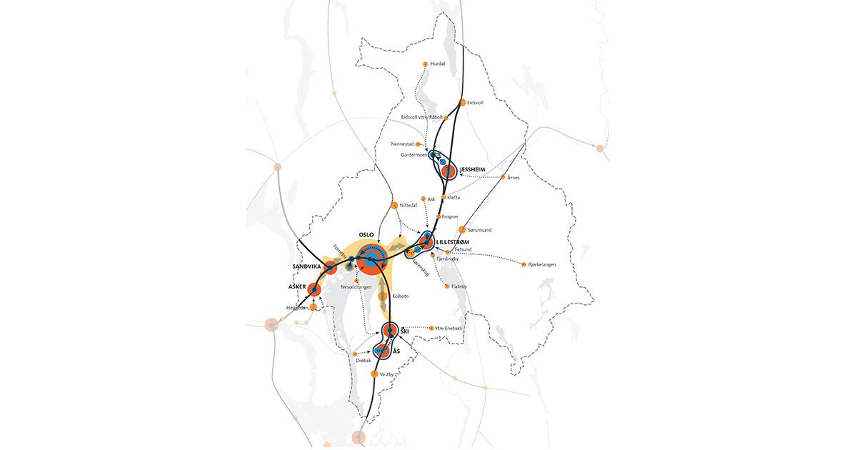 En Plan For Utbygging Og Transport I Akershus Og Oslo Fremtidens By