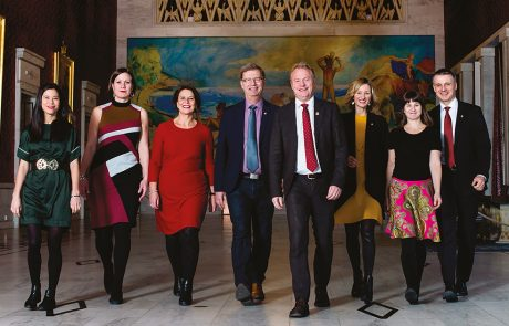 Byrådet i Oslo samlet