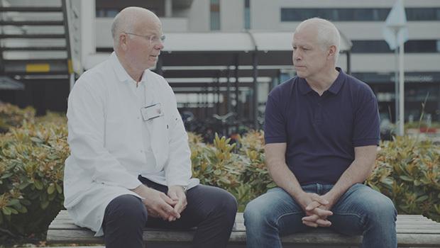 Jon Arne Søreide og Jan Gustav Hollund
