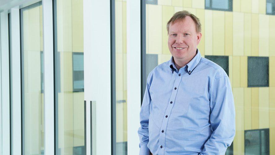 Andreas Stensvold er onkolog ved Kalnes, Sykehuset i Østfold.