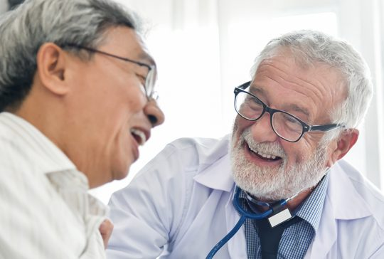 Pasient og doktor