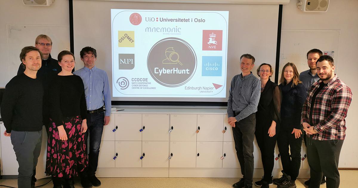 Cyberhunt-team