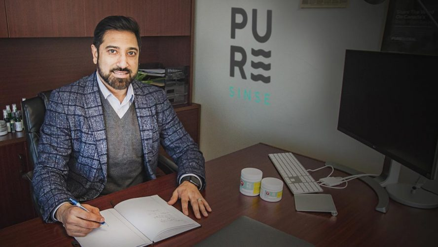 Malay Panchal, CEO of PureSinse