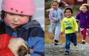 Børn i Grønland