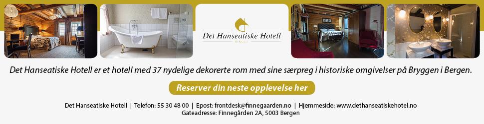 Det hanseatiske hotell annonse