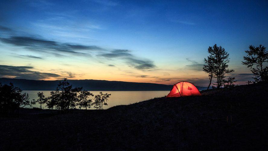 Camping på Hardangervidda