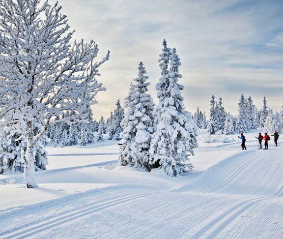 Skispor i Lillehammer