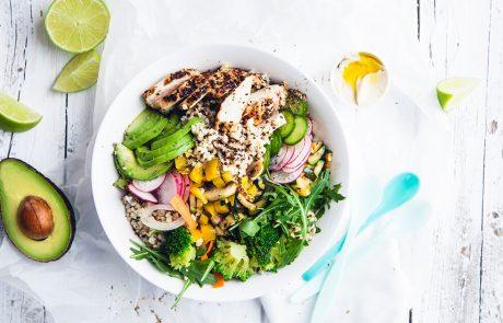 salat lavet med råd fra Ditte Ingemann