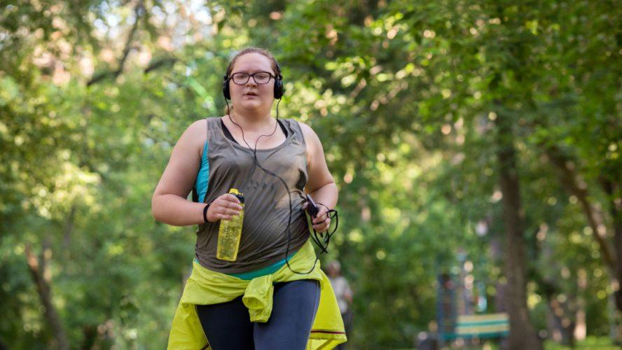 running obesity fat-shaming exercise